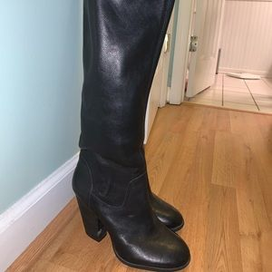 Black Vince Camuto Boots Size 8